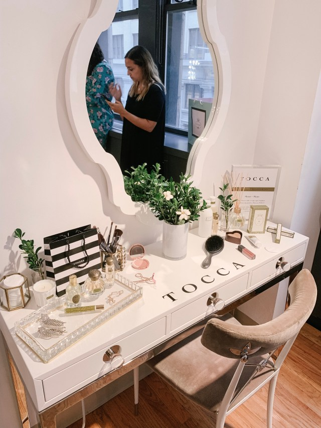Tocca products at Tractenberg & Co. Studio gifting suite at NYFW SS20