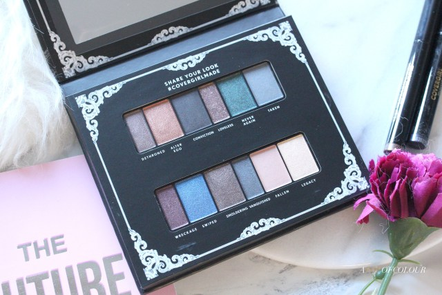 CoverGirl Her Majesty Overthrown palette