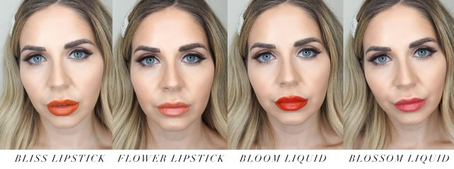 Dior Beauty Rouge Ultra Care lipsticks swatches