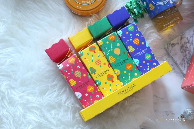 L'Occitane holiday crackers