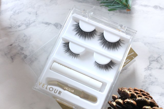 Velour Naughty But Nice faux eyelash set