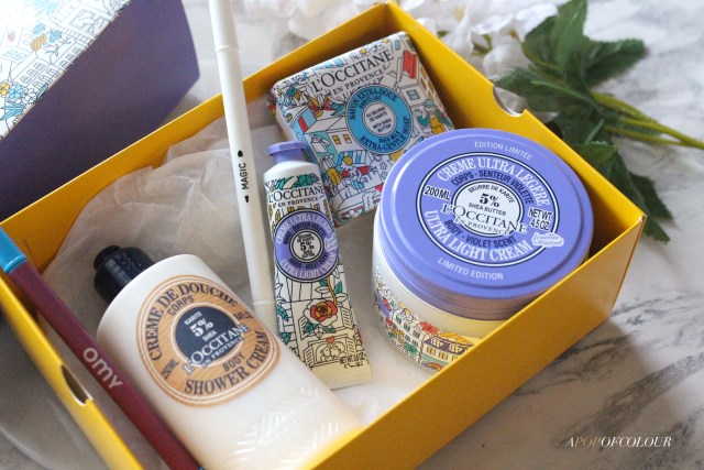 L'Occitane OMY Shea Body Care collection