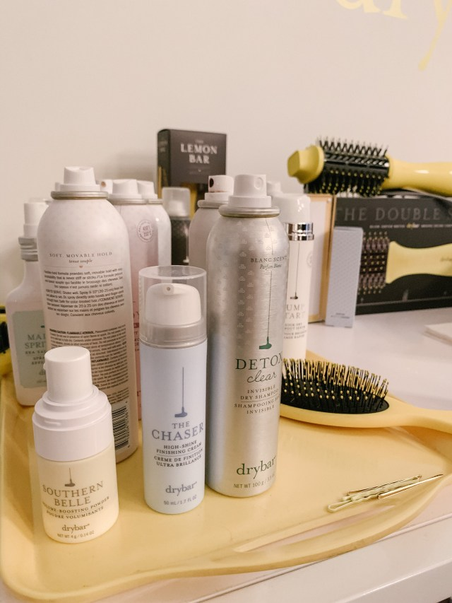 DryBar products at The Studio at Tractenberg NYFW FW20