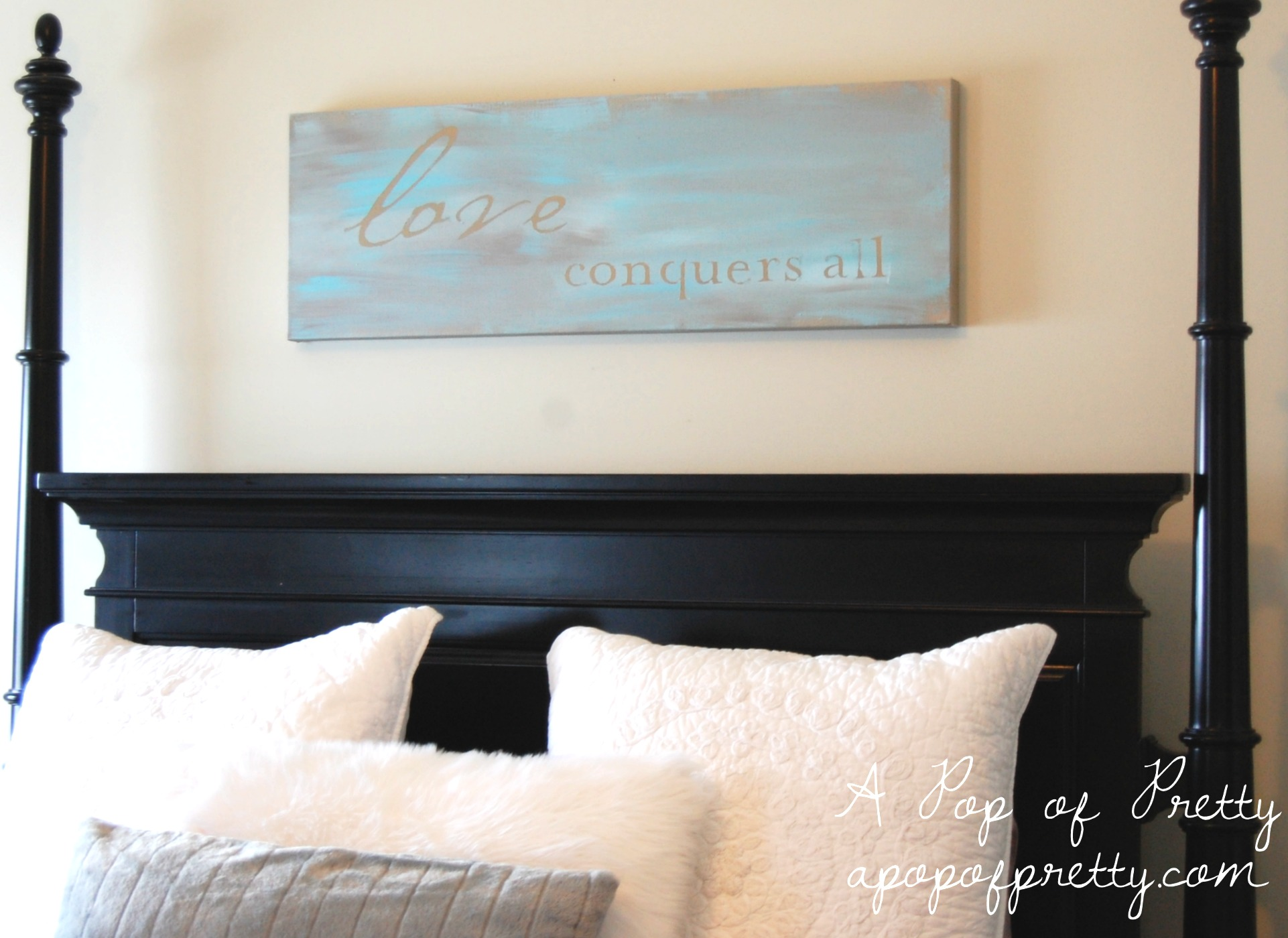 Diy Canvas Wall Art Quotes Diy Wall Art Painted Canvas A Pop Of Pretty Blog