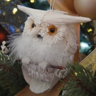 Owl Christmas Decor