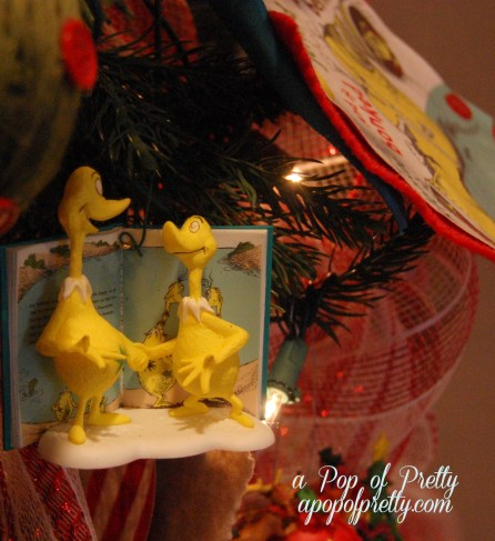 Dr. Seuss Christmas Ornaments