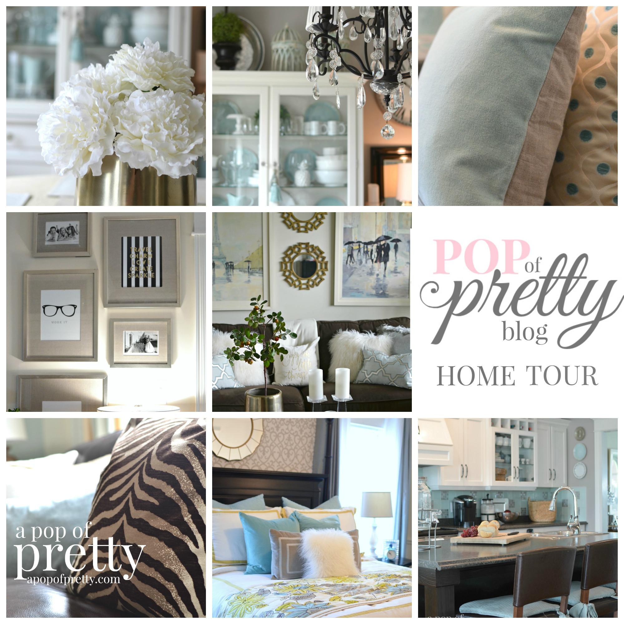 Home Decor Ideas Blog Home Tour A Pop Of Pretty Home Decor Blog A Pop Of