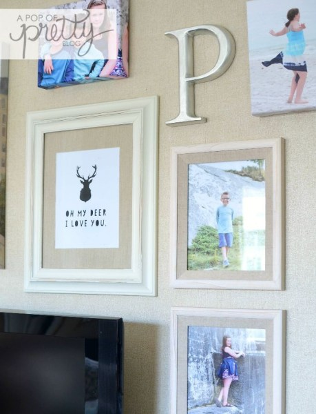 Canadian Bloggers Home Tours - Fall Gallery Wall