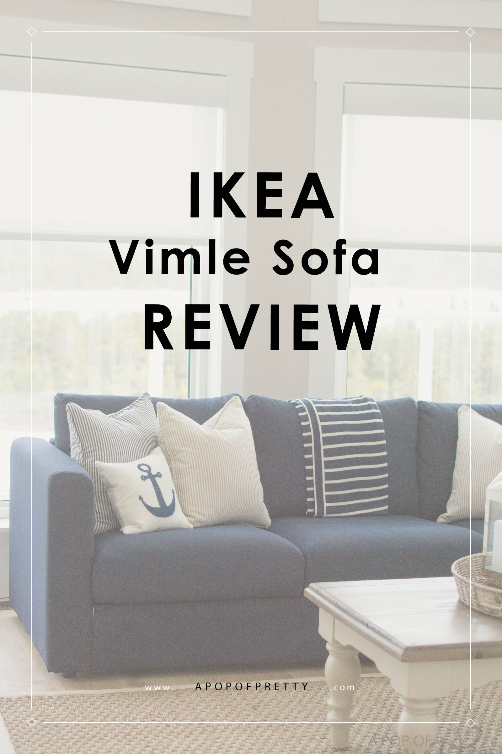 Couch Ikea Our Ikea Vimle Sofa Initial Review A Pop Of Pretty Blog