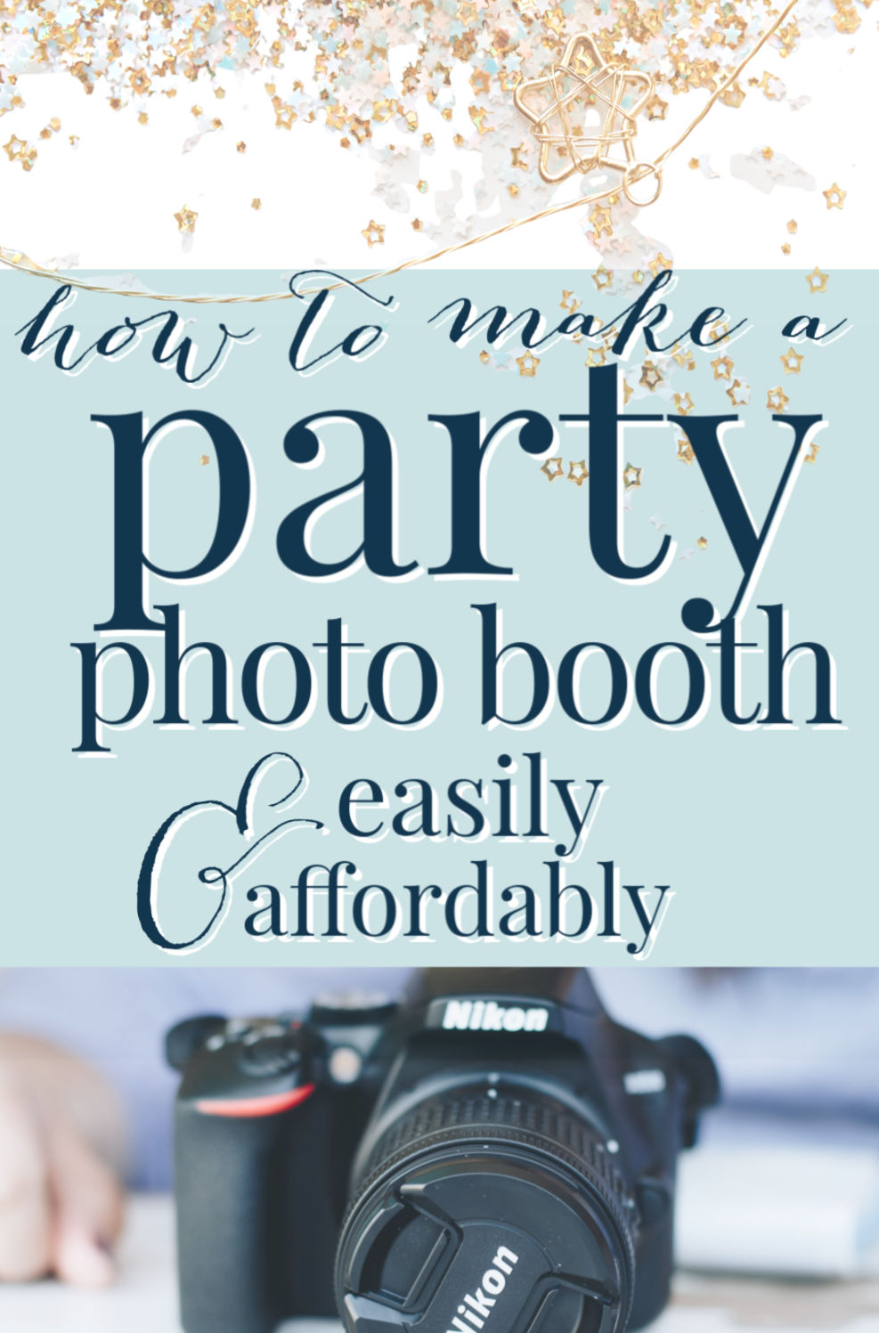 How To Make A Photo Booth Cheaply Easily A Pop Of Pretty