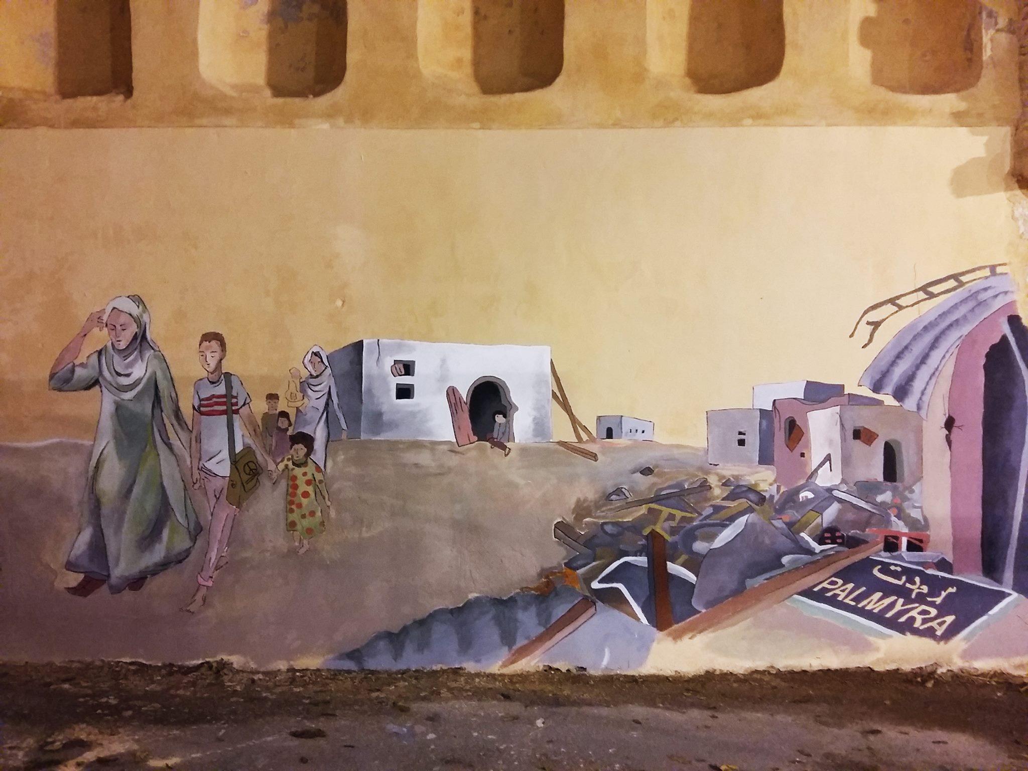 Νηπιαγωγείο και Δημοτικό στο Ρέθυμνο καλωσορίζουν τα προσφυγόπουλα με ένα γκράφιτι!