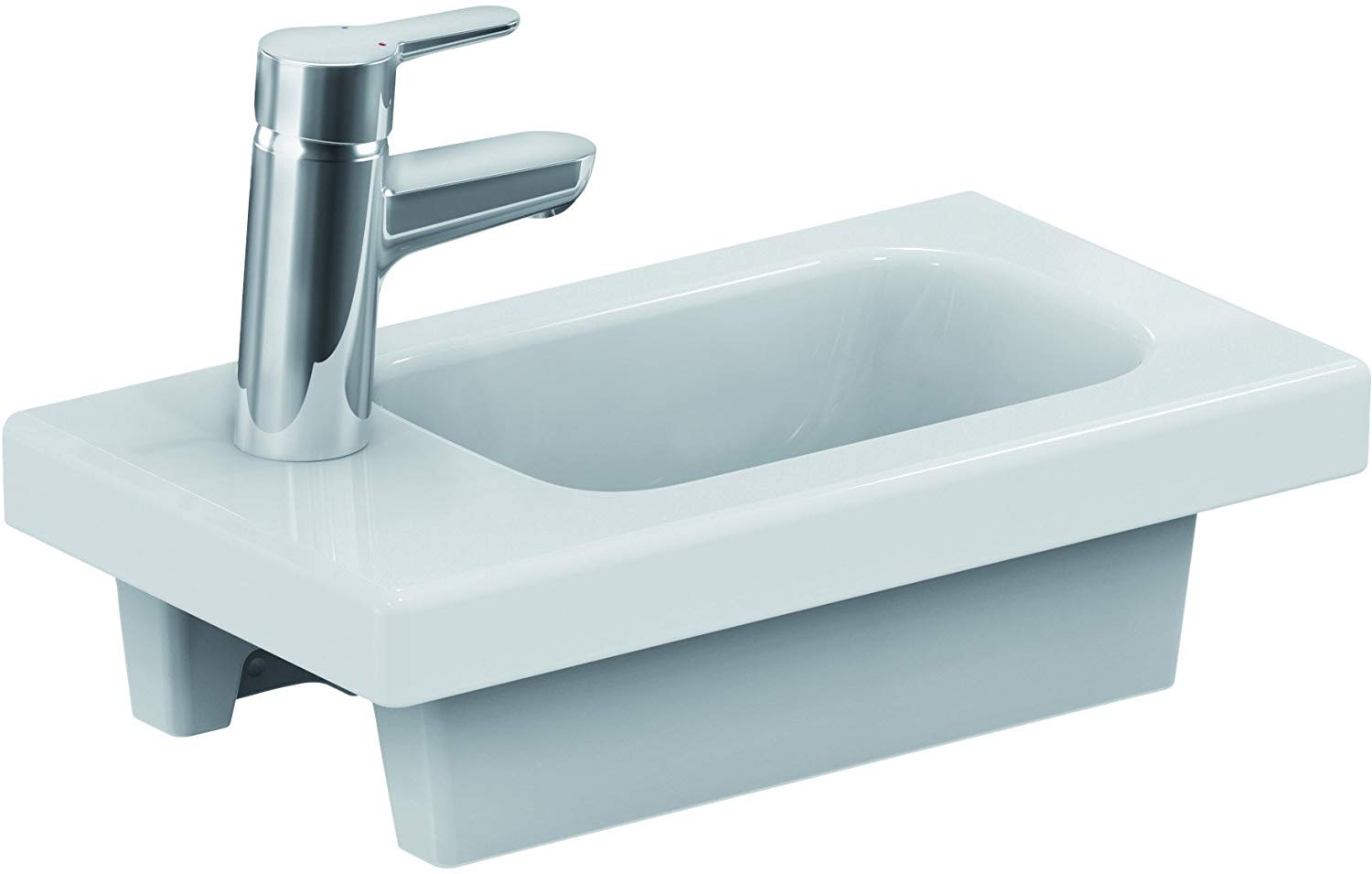 Ideal Standard Connect Blue Details About Ideal Standard E132201 Connect Space Left Washbasin 45 X 25 Cm White