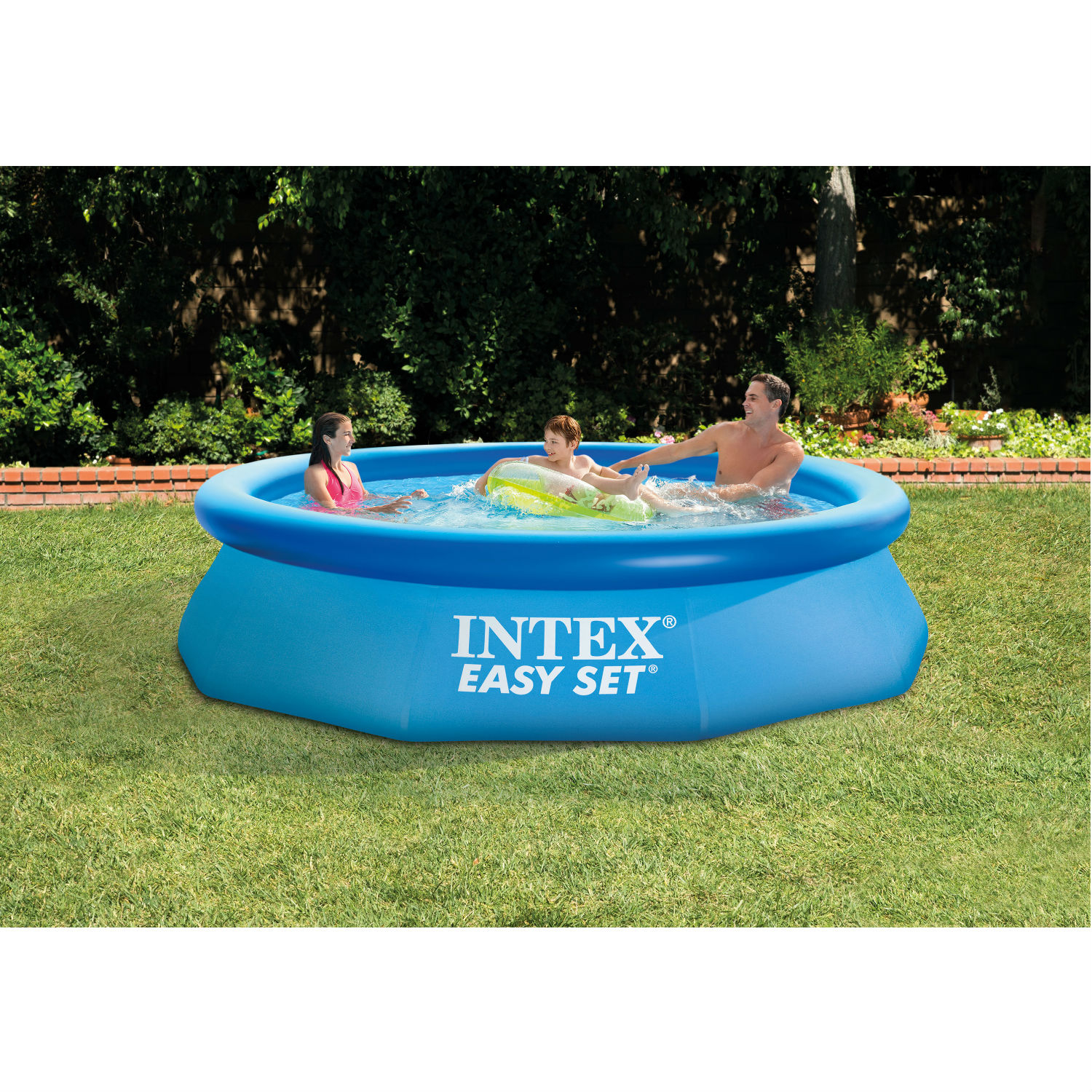 Vidaxl Pool Filterpumpe Details About Easy Set 13 X 33 Above Ground Pool W Filter Pump Outdoor Family Swimming Pool