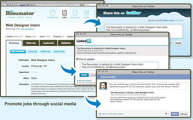jazzhr screenshot jazzs jobs dahboard the resumator jazz by - The Resumator