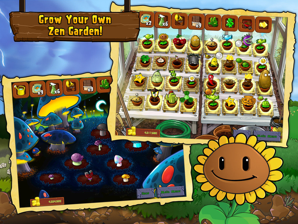 Zen Garten Plants Vs Zombies Grab Your Gardening Supplies Plants Vs Zombies Is Free
