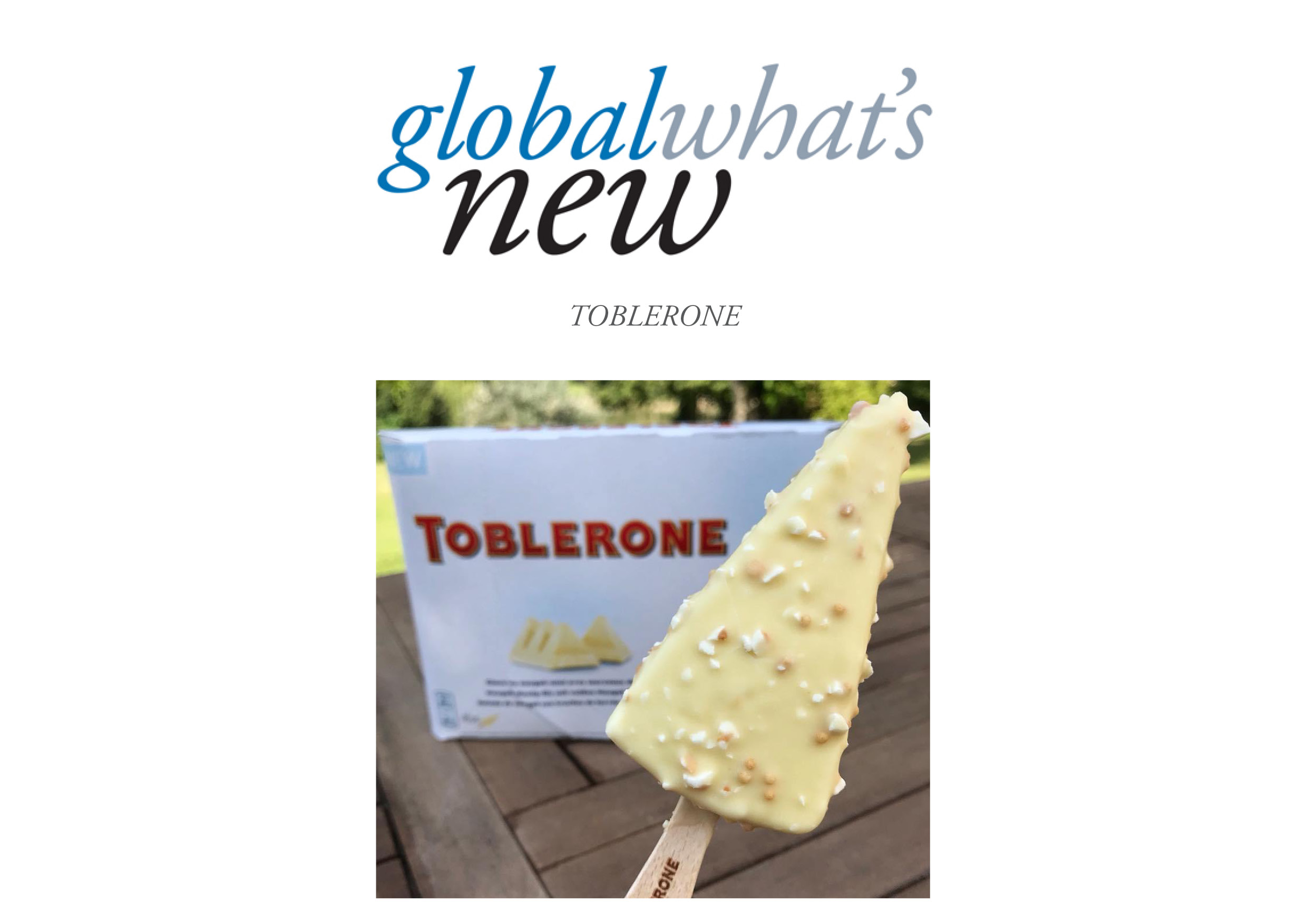 Fullsize Of Toblerone Ice Cream