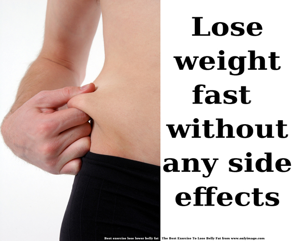 How to lose weight fast without any side effects