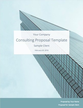 Consulting Proposal Template (Free Download) Bidsketch