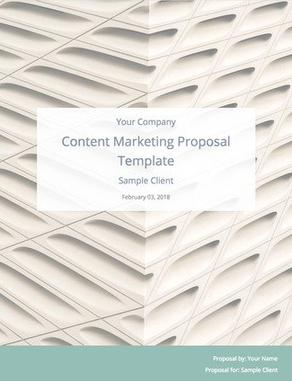 Content Marketing Proposal Template (to Land More Clients) Bidsketch