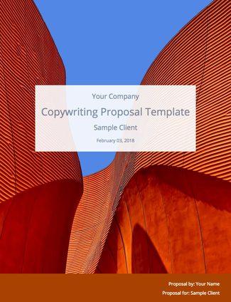 Free Copywriting Proposal Template Bidsketch