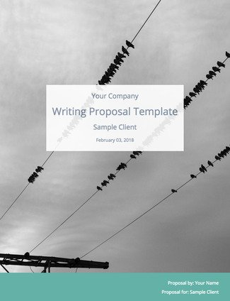 Freelance Writing Proposal Template (and Sample Content) Bidsketch