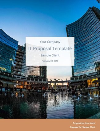 IT Consulting Proposal Template (Free Download) Bidsketch