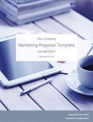 A Simple Marketing Proposal Template (to Win Clients) Bidsketch