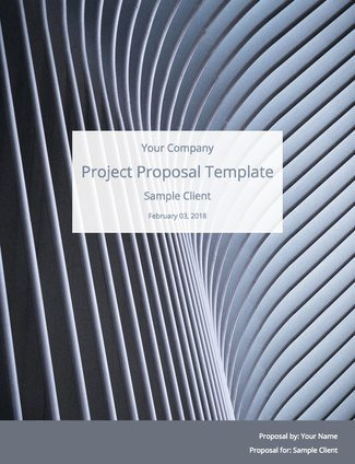Project Proposal Template (Free Sample) Bidsketch