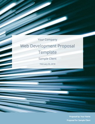 Web Development Proposal Template (Free Sample) Bidsketch