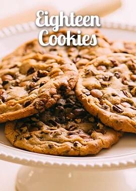 eighteen-cookies