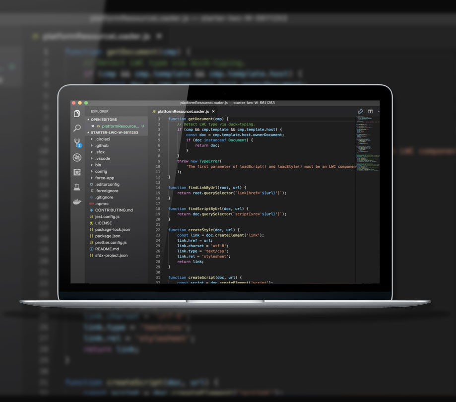 Javascript programming model for apps announced by Salesforce ADM