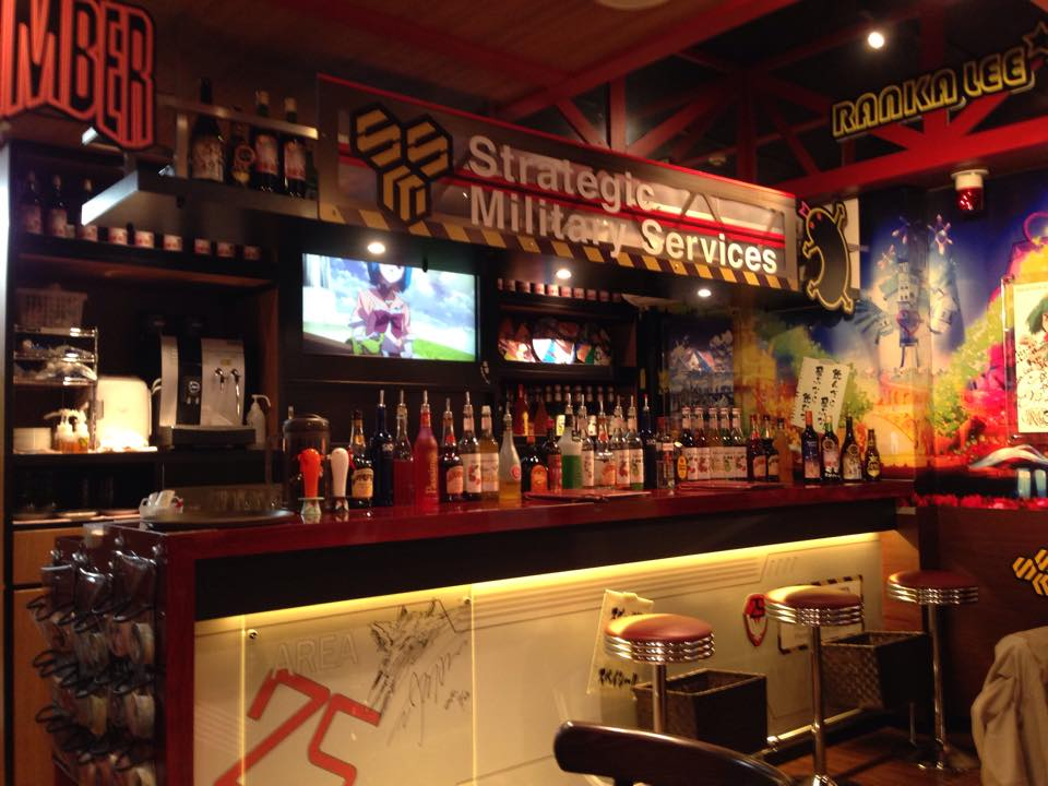 Cute Sushi Wallpaper Anime Cafe In Tokyo Characro Feat Macross Frontier