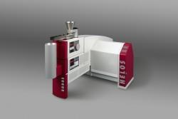Laserbeugungssensor HELOS mit Trockendispergierer RODOS