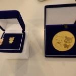 リサイクル金メッキメダル