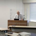 金沢大学名誉教授 金岡千嘉男先生のご講演