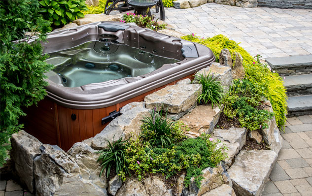 built in jacuzzi hot tub - built in hot tub Pinterest Jacuzzi
