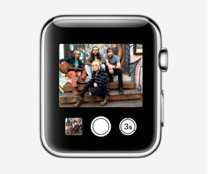 apple watch camera