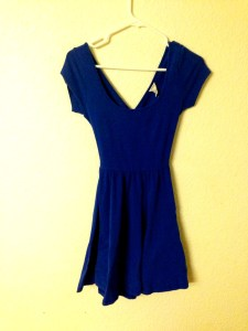 Simple Blue Dress