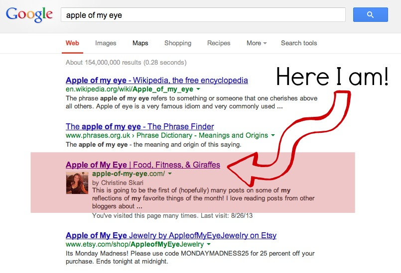 Apple Of My Eye Idiom Example Choice Image Example Cover Letter