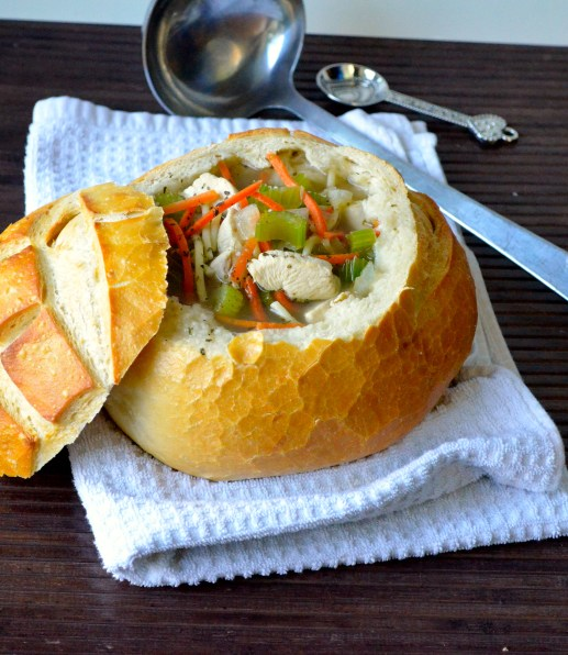 Recipe for a chunky, hearty, and healthy chicken noodle soup!