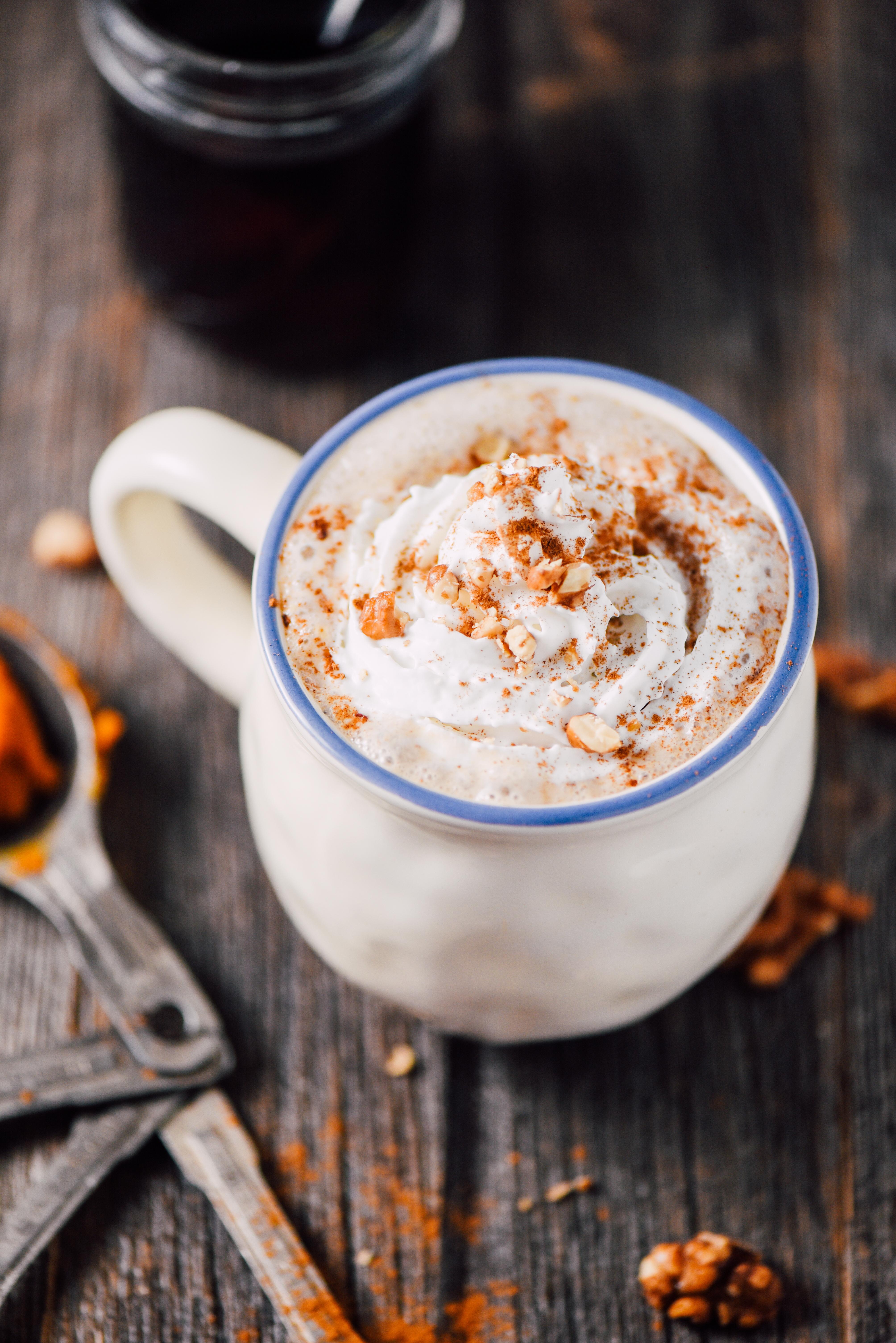 Vegan Pumpkin Spice Bedtime Drink | Sweet Pumpkin Recipes | Homemade Recipes