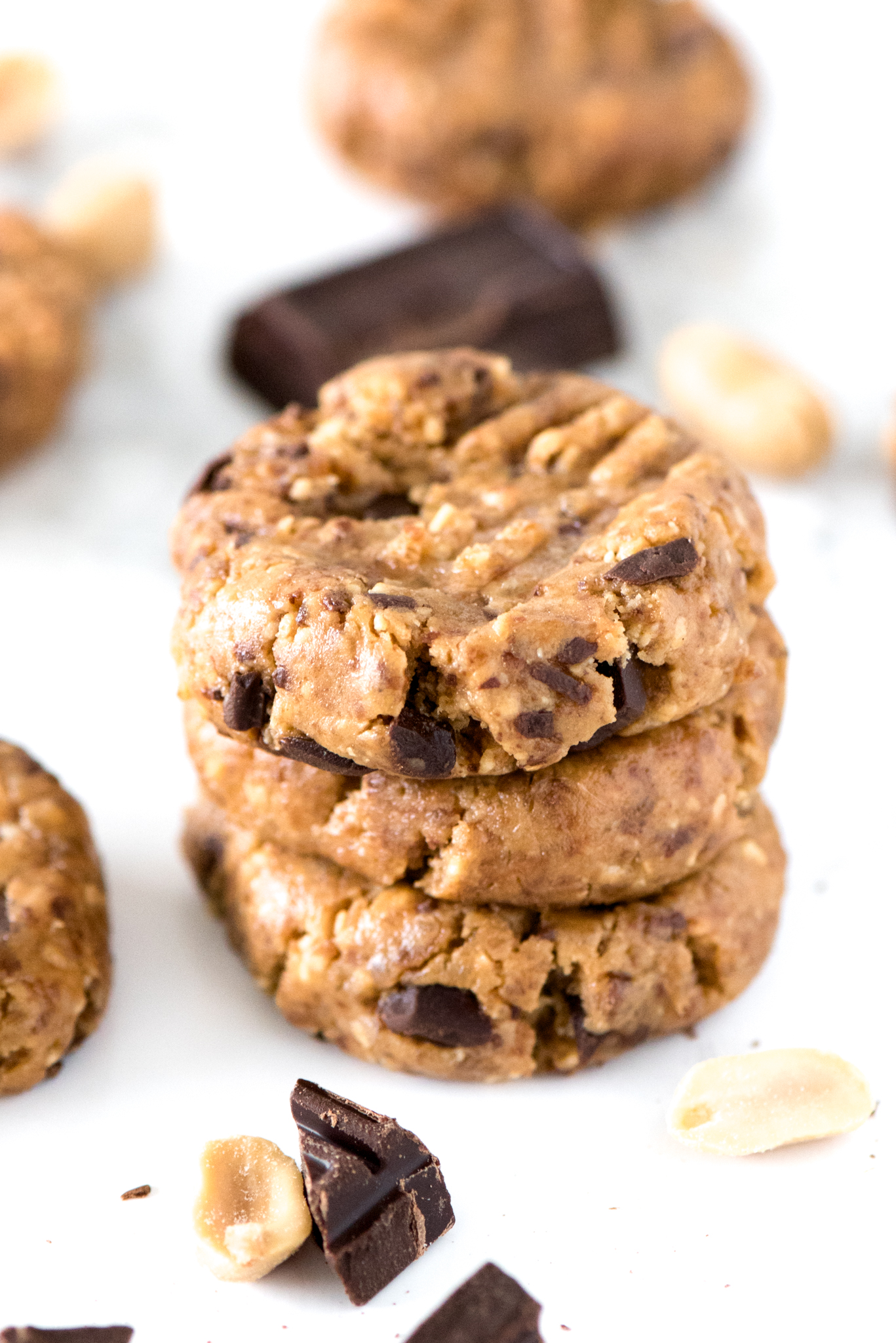 No-Bake Energy Cookies that are done in less than one minute and only ...