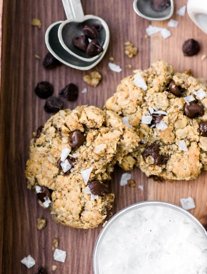 The BEST Healthy Cookie Ever- healthy enough to eat for breakfast and SO delicious!  Made with zero butter and indistinguishable from a normal cookie!