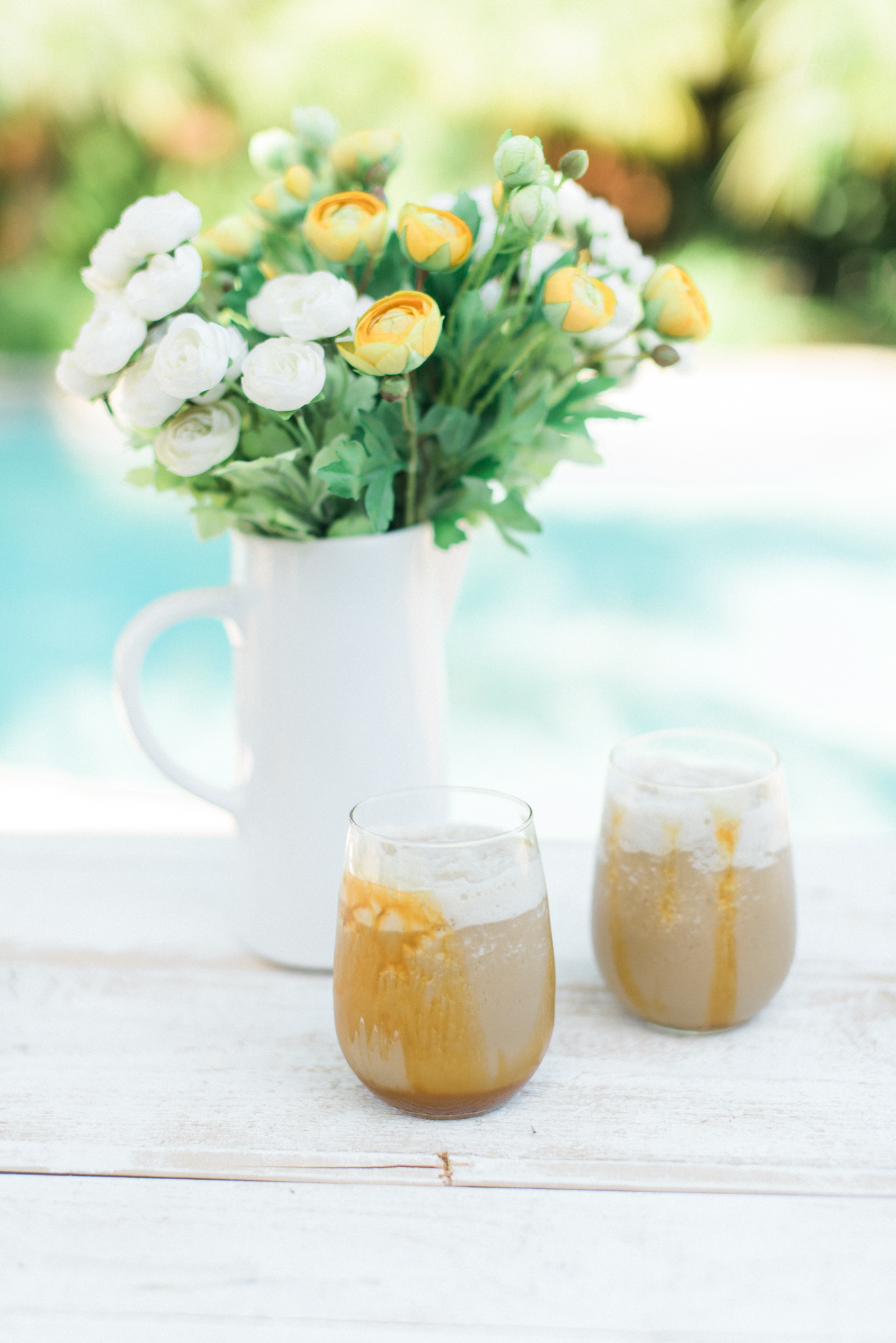 Easy Frosty Caramel Blended Coffee
