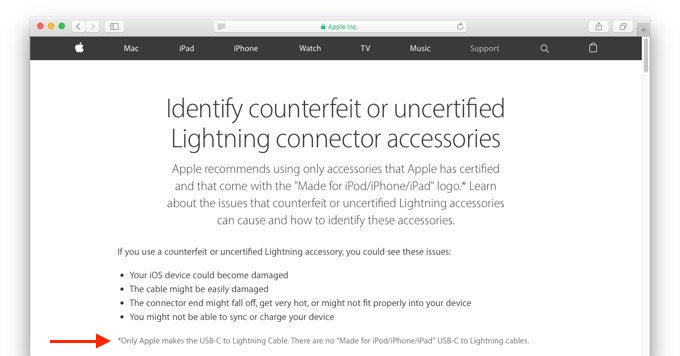 Identify_counterfeit_or_uncertified_Lightning-support