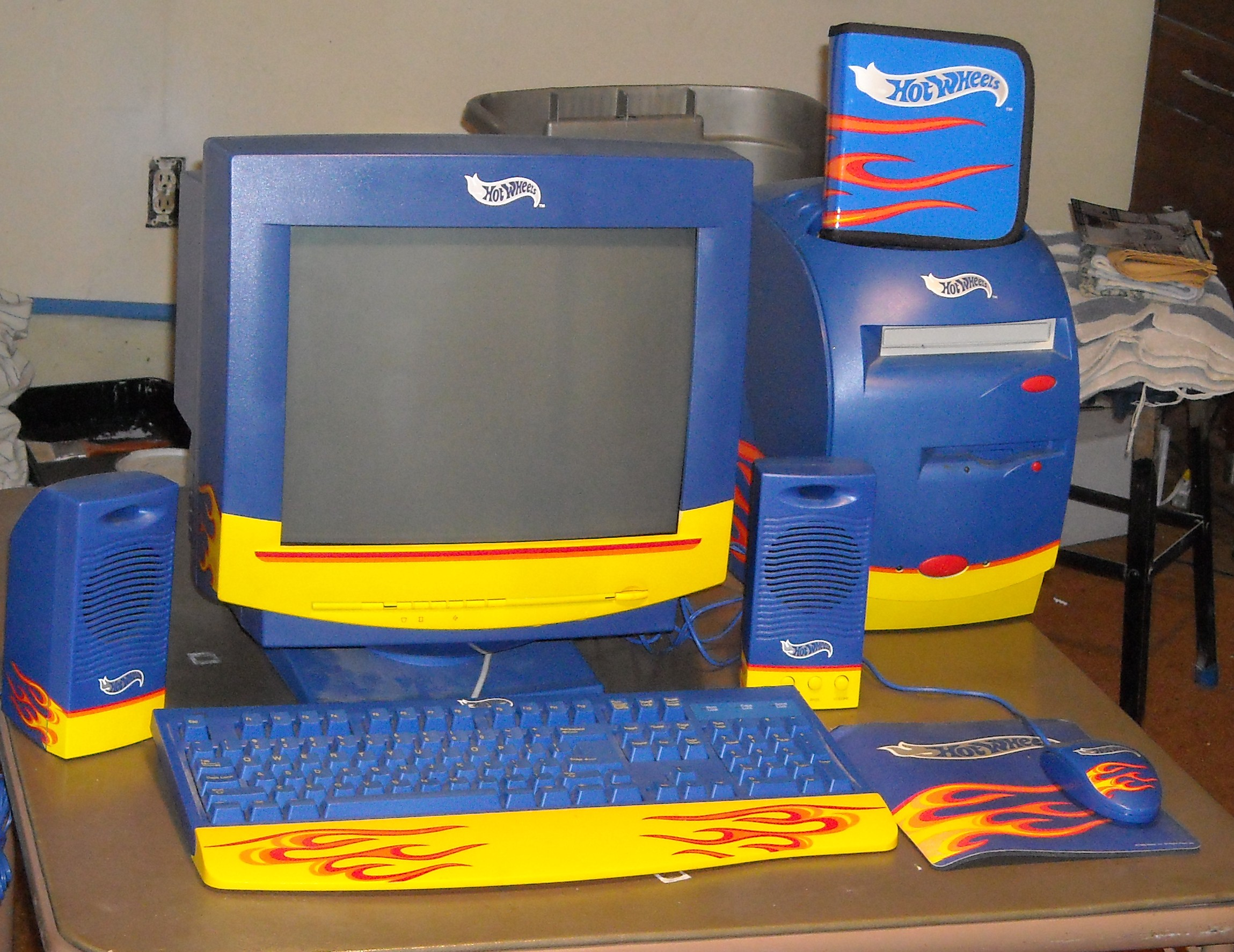 Bad Pc Setup Hot Wheels Computer ( By Patriot) | Applefritter