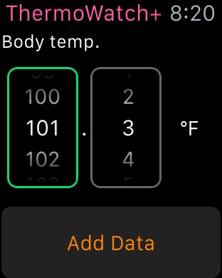 How to measure body temperature in Apple Watch? Built-in temperature
