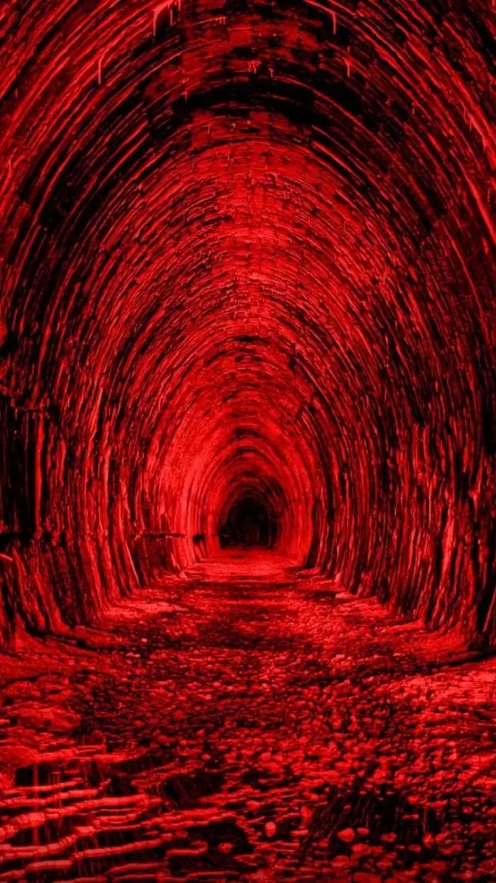 3d Tunnel Wallpaper Los Mejores Fondos De Pantalla Para El Iphone 7 Red