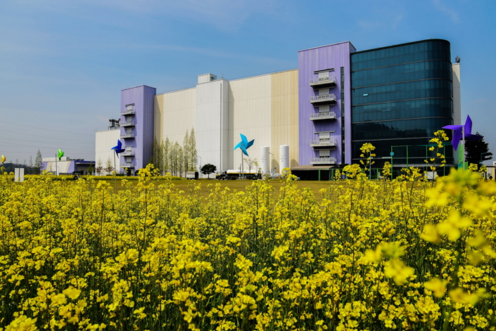 Photo Essay Celebrating Spring at Samsung\u0027s Semiconductor - photo of spring