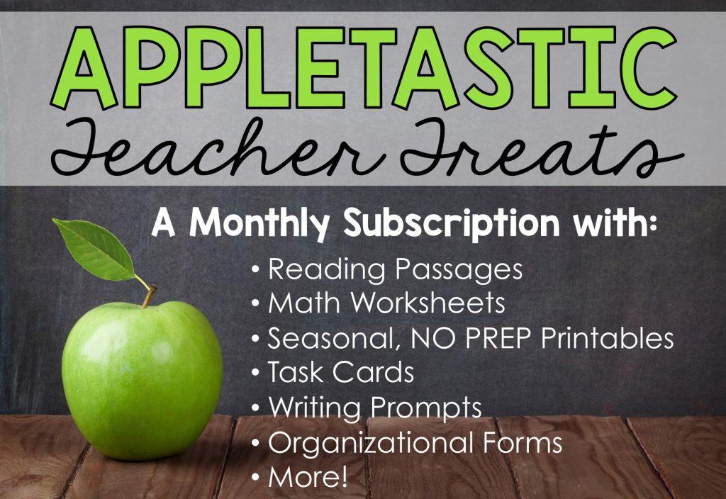 Free Teacher Resources Appletastic Teacher Treats - Appletastic